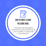 How to write a good welcome email 150x150 - How to write a good welcome email