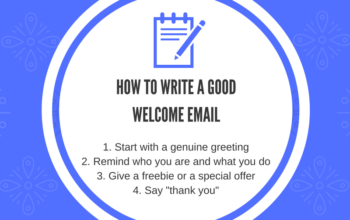 How to write a good welcome email 350x220 - How to write a good welcome email